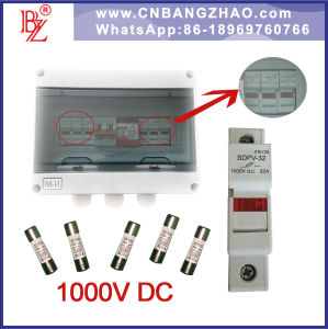 30A Fuse with 1000V DC Fuse Holder for PV Combiner Box Components china 30a fuse with 1000v dc fuse holder for pv combiner box fuse box components at gsmportal.co