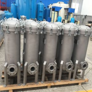 High Temperture Stainless Steel Multi Housing Bag Filter pictures & photos