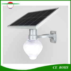 Hot Sale Cheap Price 6W All in One Solar Street Light Peach Apple Shape Garden Street Light with Lamp Pole Optional pictures & photos