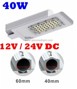Replace 125W Halogen Lamp Outdoor IP67 Outdoor Solar Powered 36V 12V 24V Solar LED Street Lamp pictures & photos