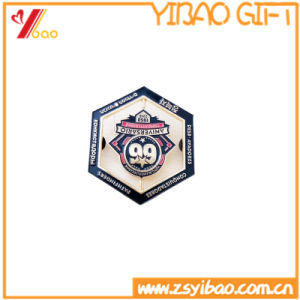 Custom 3D Logo Badge with Button Badge Souvenir Gift (YB-HD-126) pictures & photos