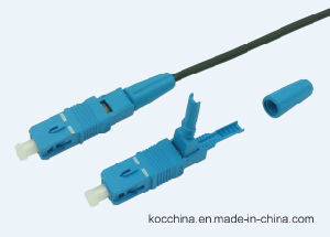 Fiber Optic Sc Sm Easyconn Fic Connector pictures & photos