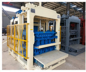 Qt10-15D Automatic Concrete Block Making Machine Hollow Paver Brick Machine pictures & photos