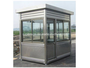 Outdoor Mobile Prefabricated/Prefab Guard House pictures & photos