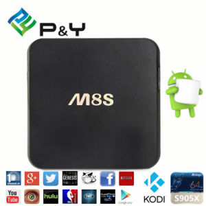 Android Smart TV Box M8s+ S812 2g/16g 2.4&5 GHz Dual WiFi Kodi Smart TV Box pictures & photos