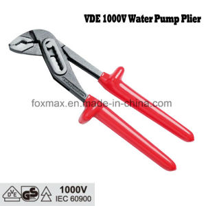 VDE 1000V Dipped Handle Water Pump Pliers D4 Type pictures & photos