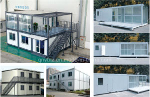 Malaysia Light Steel Prefab Container House Modular Mobile House for Sale pictures & photos