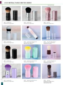Retractable Synthetic Hair Makeup Brushes pictures & photos