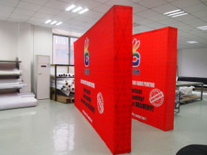 Square Aluminum Tube Fabric Pop up Display (SS-PD1) pictures & photos