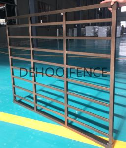 Ce/SGS Bronze Powder Coated Galvanized Steel Security Fence for Window pictures & photos