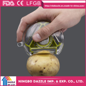 Multifunctional Swivel Potato Scraper Hand Metal Potato Peeler pictures & photos