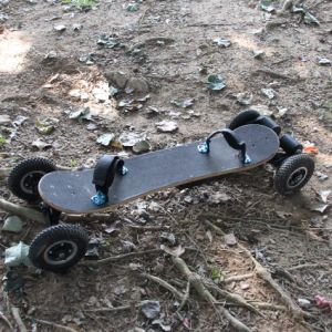 Powerful 1650wx2 Motor 35km/H 4 Wheels Electric Skateboard pictures & photos