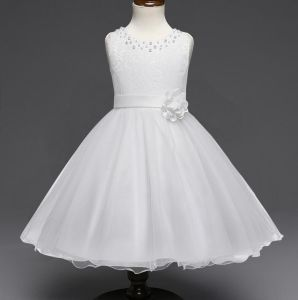 Princess Bling Flower Girl Dresses 2017 New Sheer Long Sleeves First Communion Birthday Party Dresses Girls Pageant Dress for Weddings pictures & photos