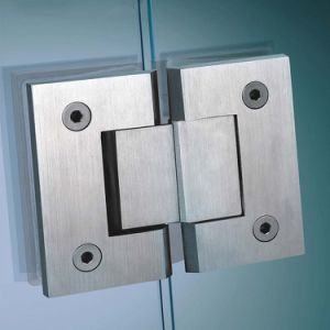 Mirror Polished Stainless Steel Shower Door Hinges pictures & photos