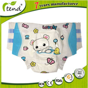 OEM Disposable Super Absorption Baby Print Abdl Adult Diaper for Senior/Elderly/Old People pictures & photos