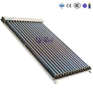 No Freezing Solar Heat Pipe Vacuum Tube Collector for Solar Water Heating pictures & photos