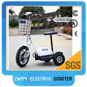 Popular Three Wheels E Scooter with Lazyback pictures & photos