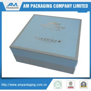 Wholesale Wedding Invitations Card Silk Boxes Gift Storage Box with Lid pictures & photos