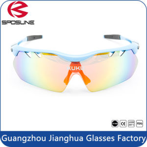 Outdoor Sports Sunglasses with Tr90 Frame PC Lens pictures & photos