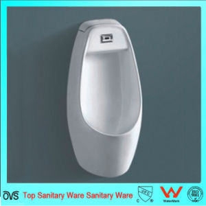Bathroom Sanitary Wall Hung Ceramic Sensor Waterless  Urinal  for Men pictures & photos