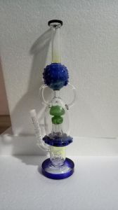 Colorful Armed Tree Perc Glass Water Pipe Hookah