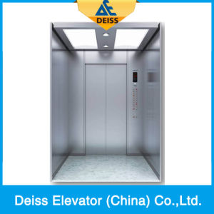 Hairline Stainless Steel Large Space Passenger Villa Home Residential Lift pictures & photos