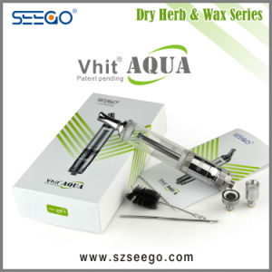 New Coil Design Vhit Aqua 2 in 1 Vaporizer Pen Hookah with Rotatable Tip pictures & photos