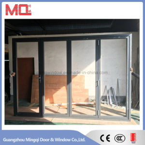 Aluminum Exterior Low E Glass Folding Door Bi-Fold Door pictures & photos
