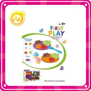 Plastic Toys Fruits and Vegetable Cooking Playset for Child