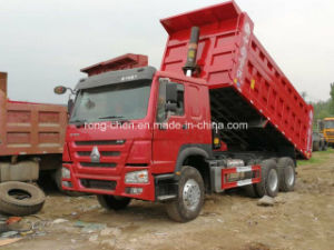 Low Price Used 10 Wheels HOWO Dump Truck for Sale pictures & photos