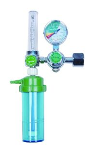 Oxygen Flowmeter with Humidifier Medical Oxygen Regulator pictures & photos