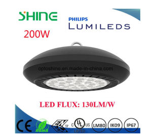 High Quality Competitive Price 5 Years Warranty LED Round High Bay Light 200W pictures & photos