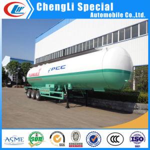 Q370r 12mm 59.52cbm Tri-Axle 25tons 30mt LPG Road Tanker Trailer pictures & photos