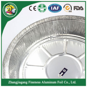Superior Quality Round Food Container Aluminum Foil Pan pictures & photos