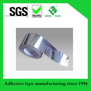Heat Resistant Fireproof Self Adhesive Aluminum Foil Tape pictures & photos