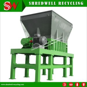 Two Shaft Shredding Machine for Crushing The Whole Old Tire pictures & photos