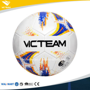 En71 6p PVC Material Machine-Stitched Football pictures & photos