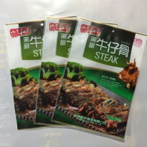 Matte BOPP Mylar Packaging Bags for Steak pictures & photos