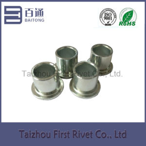 8X7.3mm White Zinc Plated Flat Head Full Tubular Steel Rivet pictures & photos