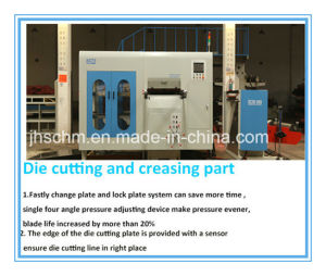 Automatic Die Cutting Machine for Large Size pictures & photos