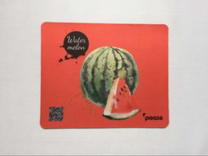 Promotional Mouse Pad with Qr Code and Logo