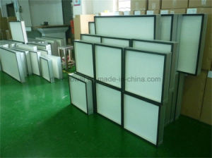 Large Capacity Glassfiber HEPA Filter, Panel Air Cleaner for Cleanroom pictures & photos