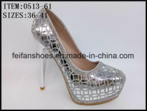 2017 Fashion Design Women Shoes Dressing Party High Heels (0513-61) pictures & photos