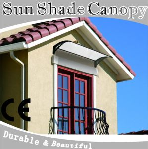 Roof Stainless Steel Awning with Polycarbonate Sheet pictures & photos