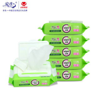 Eco-Friendly Single Pack Feminine Intimate Wet Tissue Flushable Wipes pictures & photos