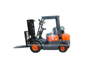 3 Ton LPG Forklift with Nissan K21 Engine pictures & photos