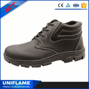 Utex Nitrile Rubber PU Leather Cheap Safety Shoes Ufa046 pictures & photos