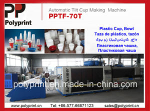 Water Cup Forming Machine (PPTF-70T) pictures & photos