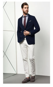 Made to Measure Navy Men′s Jacket Blazer pictures & photos