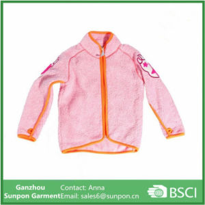 Girls Fleece Jacket Suitable for 12years Kids pictures & photos